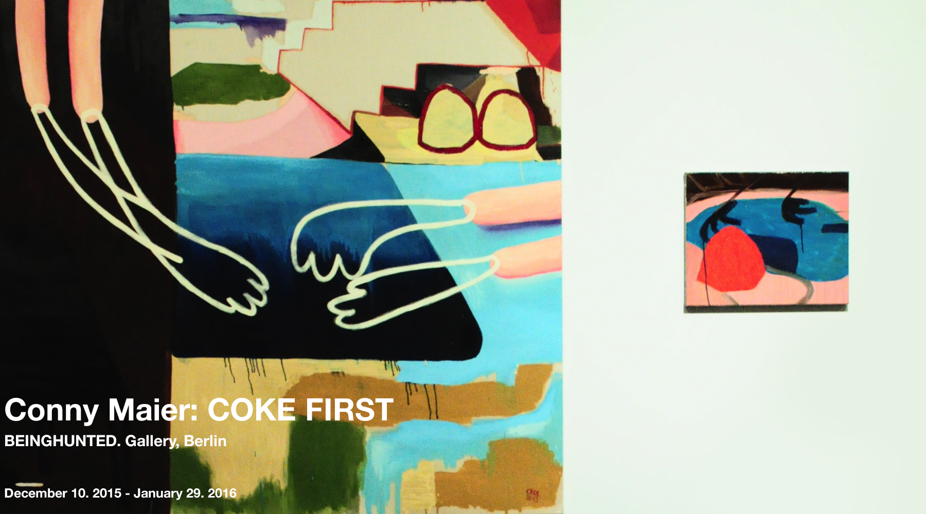 BEINGHUNTED. Gallery: Conny Maier COKE FIRST