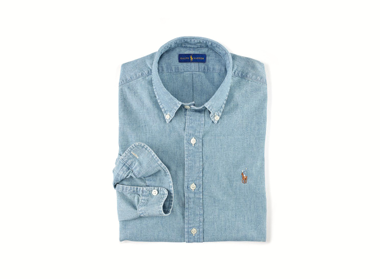 Polo Ralph Lauren Chambray Sport Shirt M