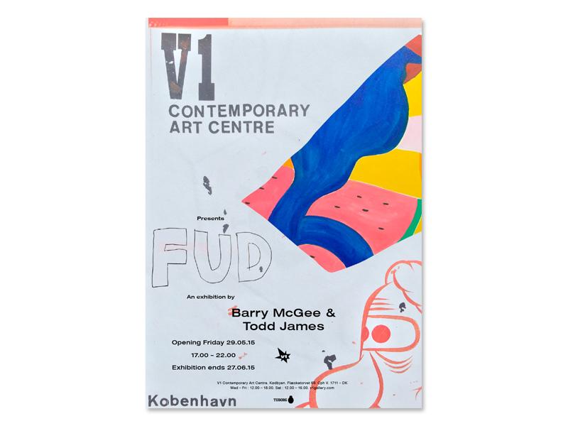 V1 Contemporary Art Center: Barry McGee & Todd James: Fud
