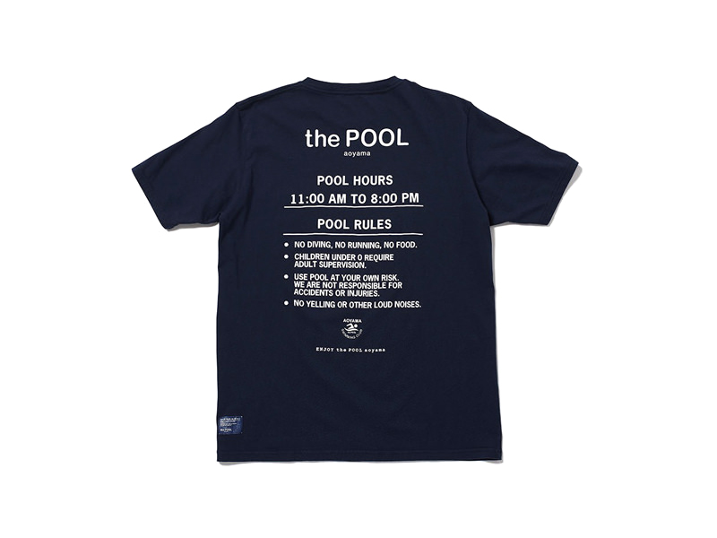 the POOL aoyama Pool Rules Pocket T-shirt