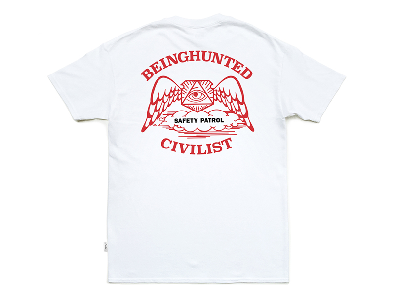 Civilist x BEINGHUNTED. Patrol T-shirt