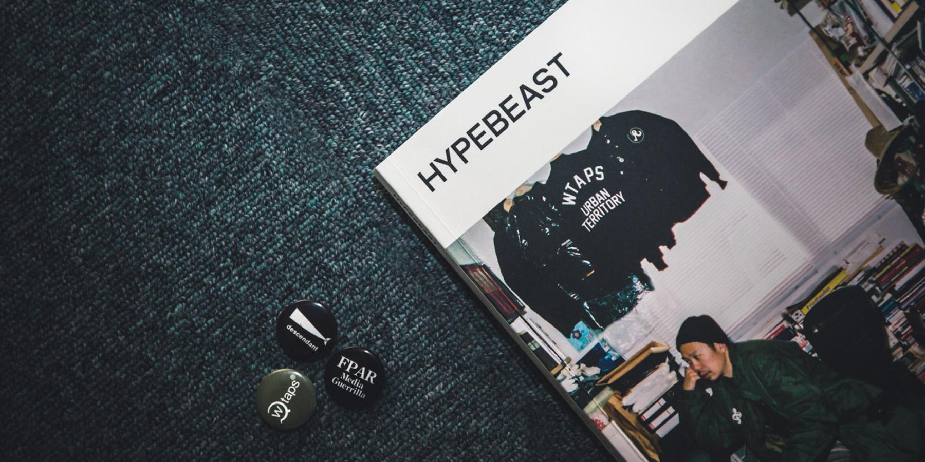 Hypebeast Magazine 13 WTAPS Tetsu Nishiyama cover