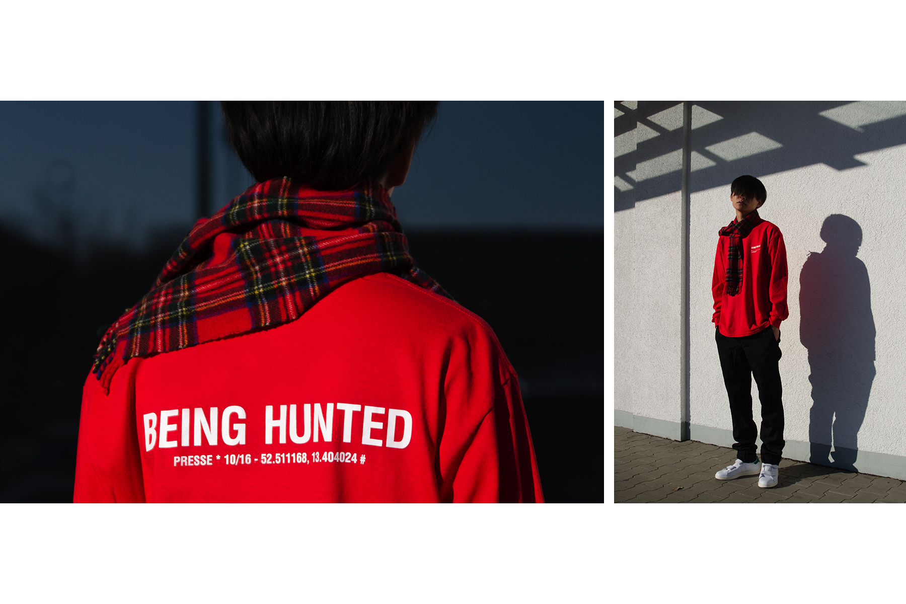BEINGHUNTED Townes The New Berlin Vintage HL Longsleeve