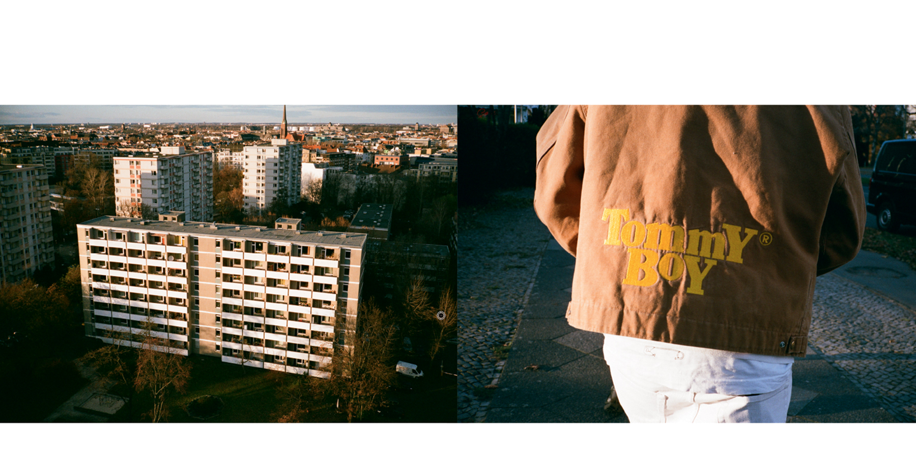 BEINGHUNTED. Magazine #01 - Carhartt WIP Archive, Tommy Boy Jacket
