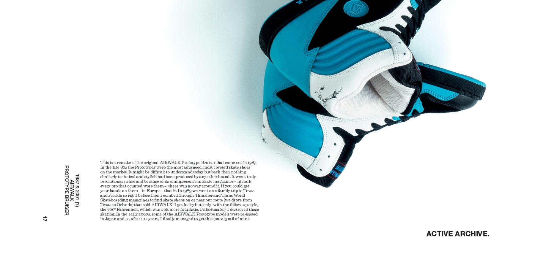 BEINGHUNTED. Magazine #01 - Active Archive AIRWALK