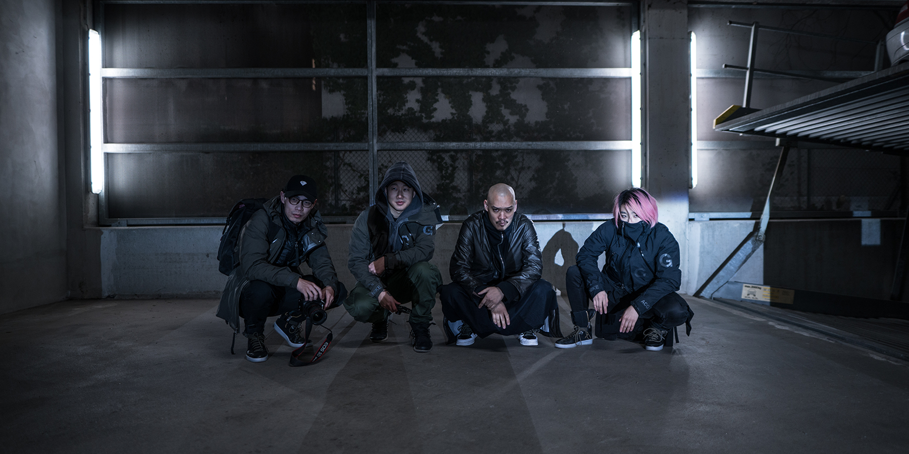 NikeLab Shanghai x ACRONYM® AF1 Downtown Berlin Launch - The Group