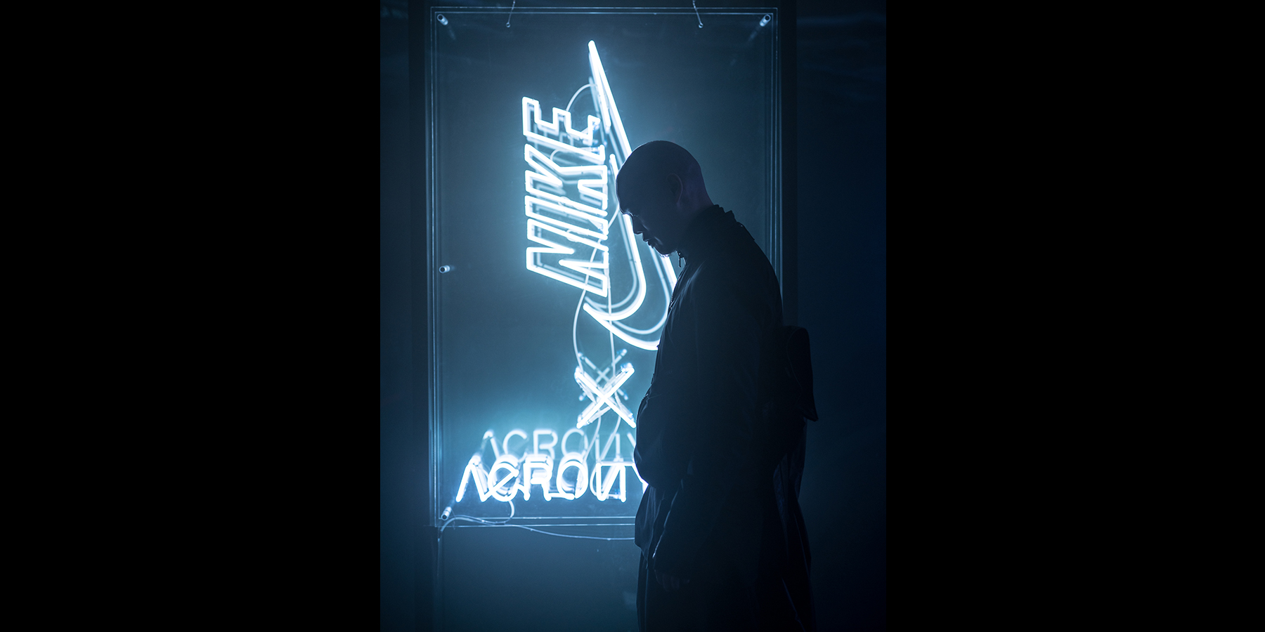 NikeLab Shanghai x ACRONYM® AF1 Downtown Berlin Launch - Errolson Hugh Sign by Jennifer Bin