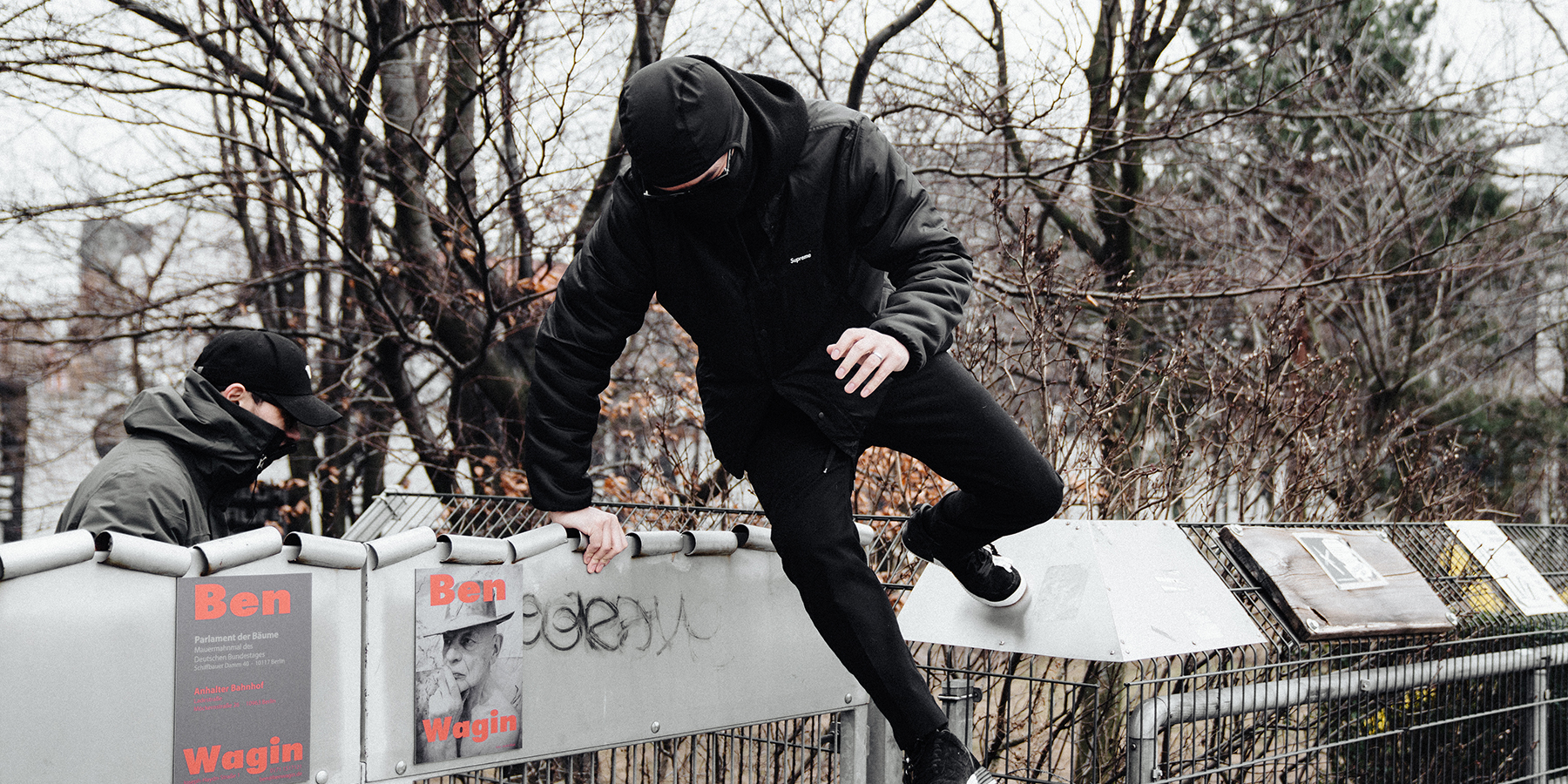 NikeLab Shanghai x ACRONYM® AF1 Downtown Berlin Launch - Jump by Alex Mealand