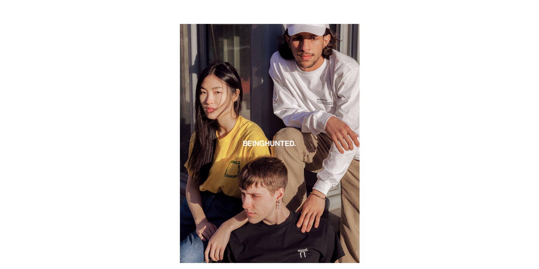 BEINGHUNTED. Spring/Summer 2017 Lookbook Group