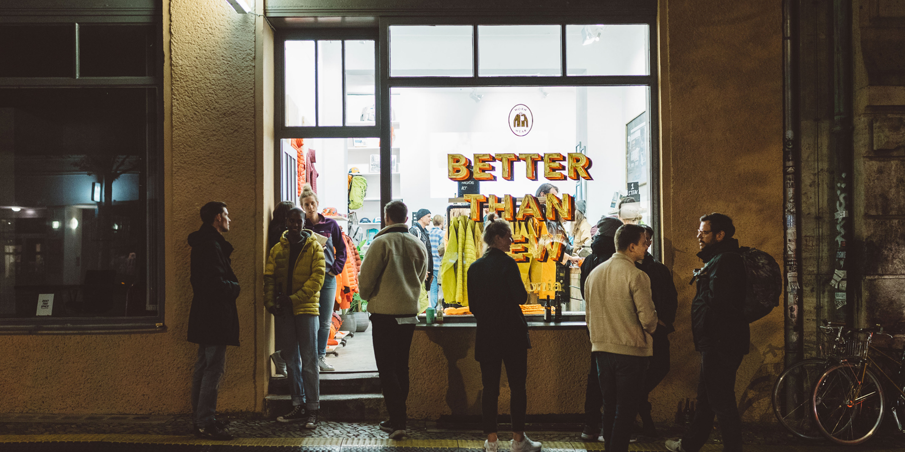 BEINGHUNTED. for Patagonia Berlin Attack Thrift Shop 1