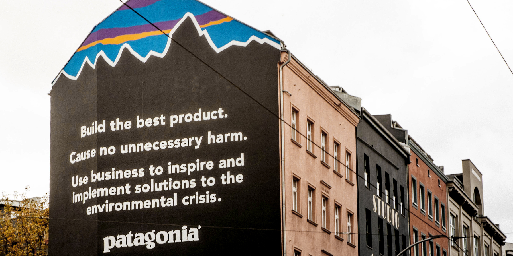 BEINGHUNTED. for Patagonia Berlin Attack Mural